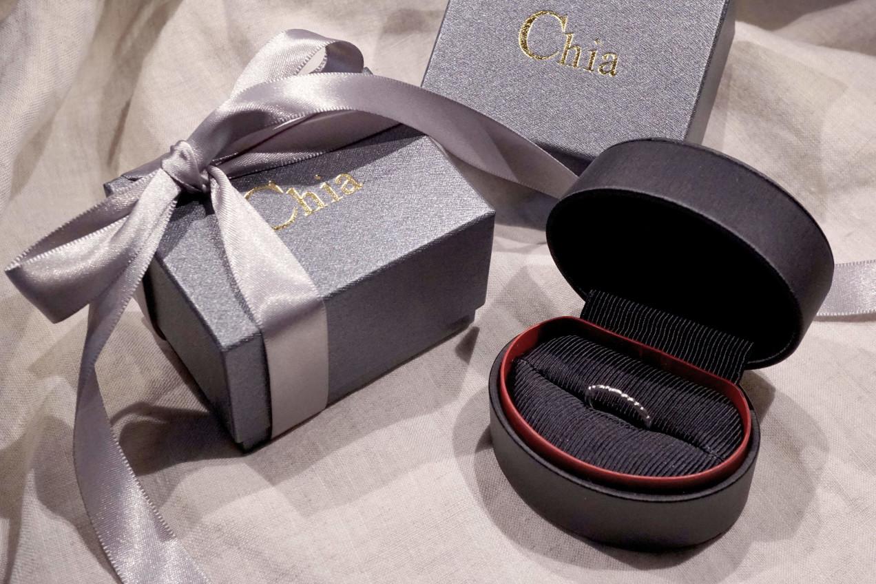 chia jewelry婚戒訂製婚戒戒盒戒指包裝婚戒品牌求婚戒指